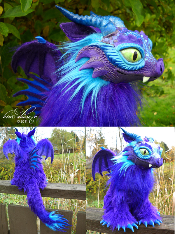 Purple Dragon by kimrhodes