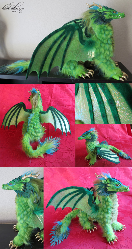 Green Forest Dragon by kimrhodes