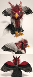 red-crested griffin-2 by kimrhodes