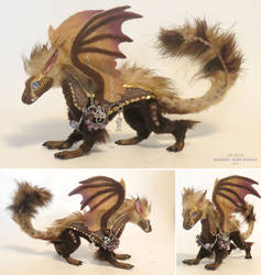 Brown Dragon by kimrhodes