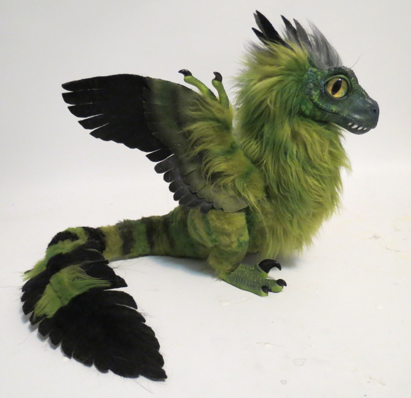 Feather-Raptor: Iguana by kimrhodes