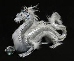 Orb Dragon: silver cloud by kimrhodes