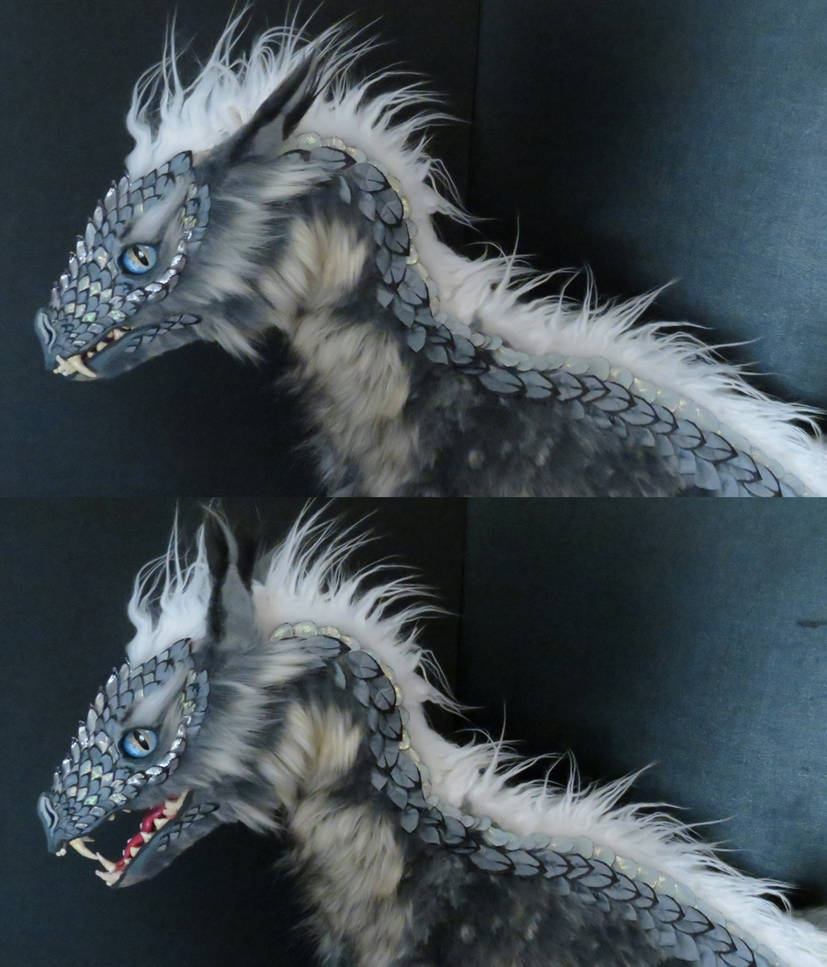 WIP - large posable dragon