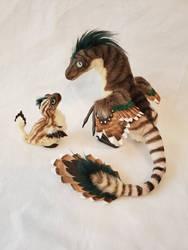 raptor mom  baby by kimrhodes