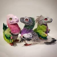 baby raptors doves