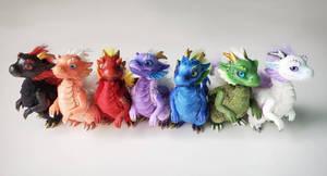 rainbow of dragonlings