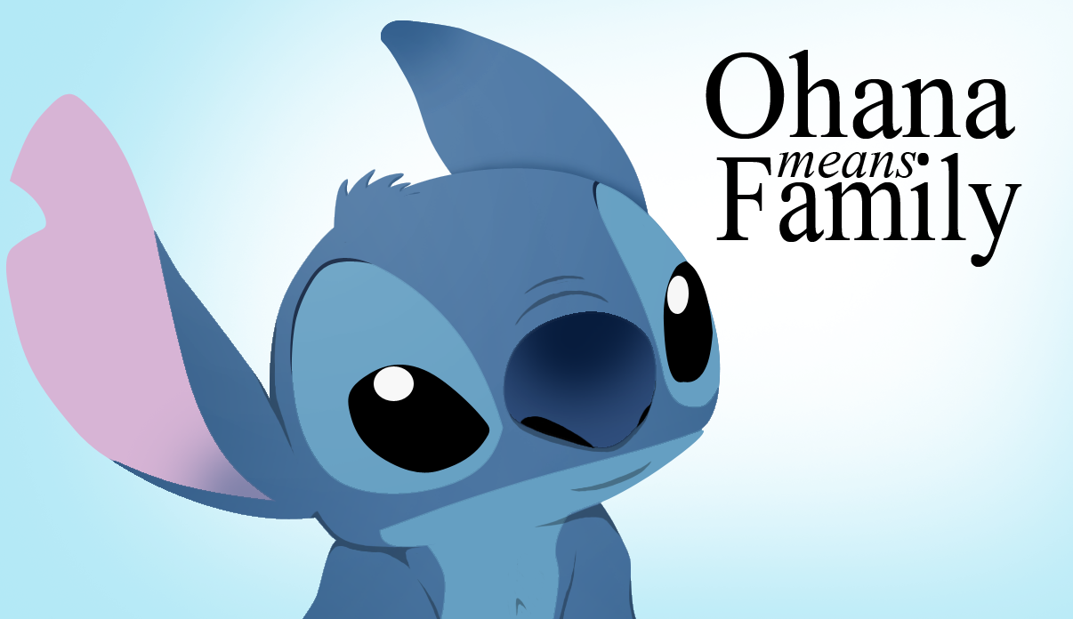 stitch ohana quote wallpaper - photo #13