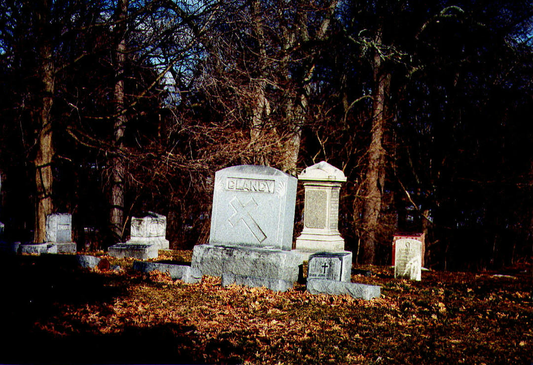 Necropolis in Autumn by plutoniancrow