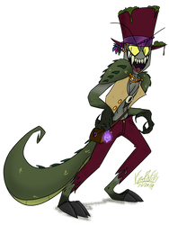 Voodoo Alligator by ViperPitsFilly