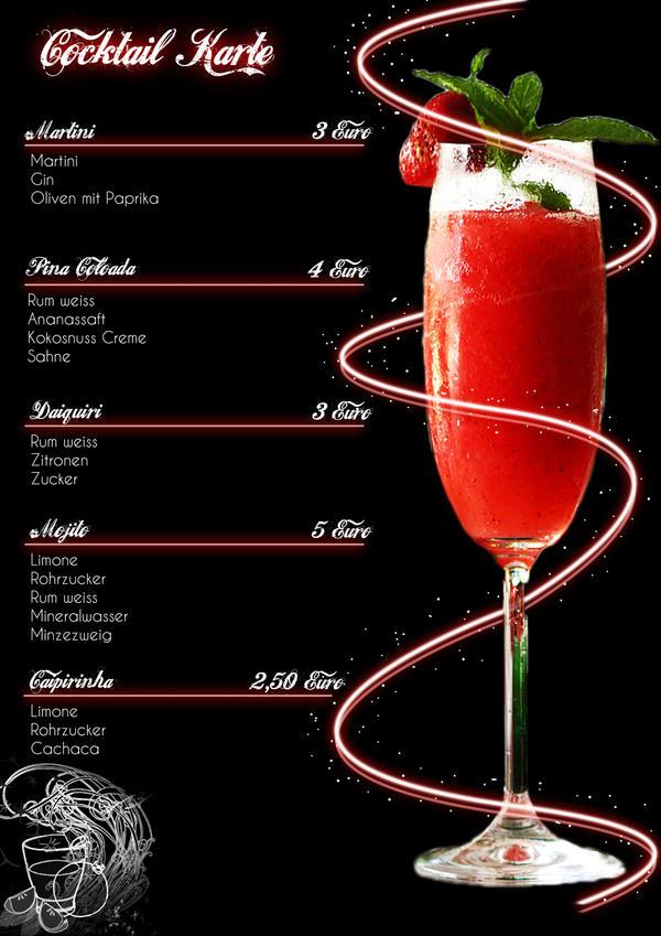 Cocktail Karte.Cocktail Karte By Killerfussel On Deviantart
