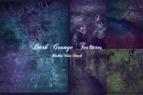 Donor's Dark Grunge Pack by SamKross-Stock