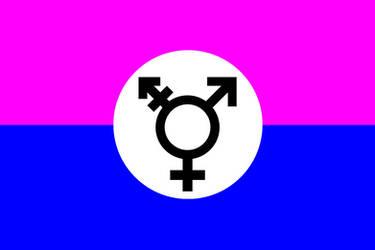 Transsexual Flag by purplemutant