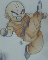 krillin hi kick done by saiyan-chan