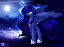 Night Sky by SkyHeavens