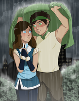 Night Rain by Tsuki--Sama