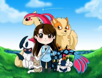 Poke Team by Tsuki--Sama