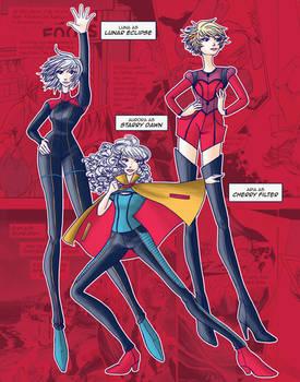 Superhero fashion, part 1