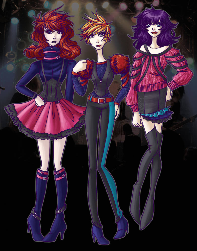 Visual Kei fashion, part 2 by seaofwishes