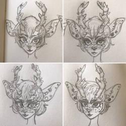 Artemis Sketches