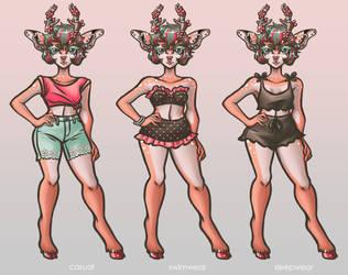 Artemis outfits [pt1]