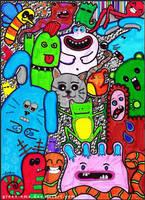 Monsters by ateljEE