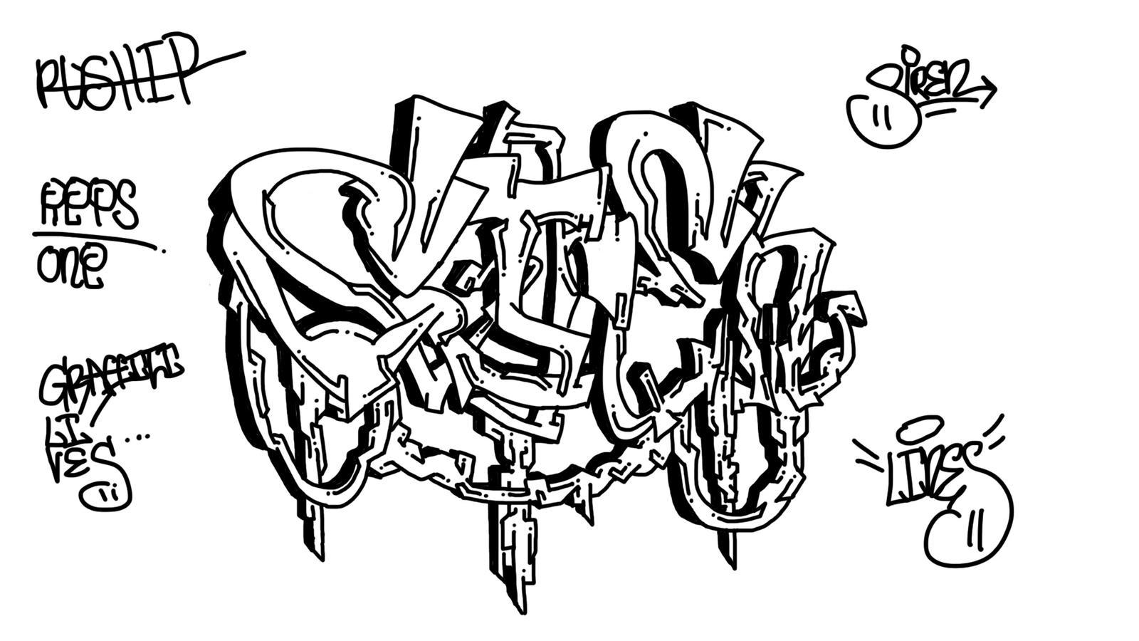 Graffiti styles wildstyle graffiti wildstyle siren by