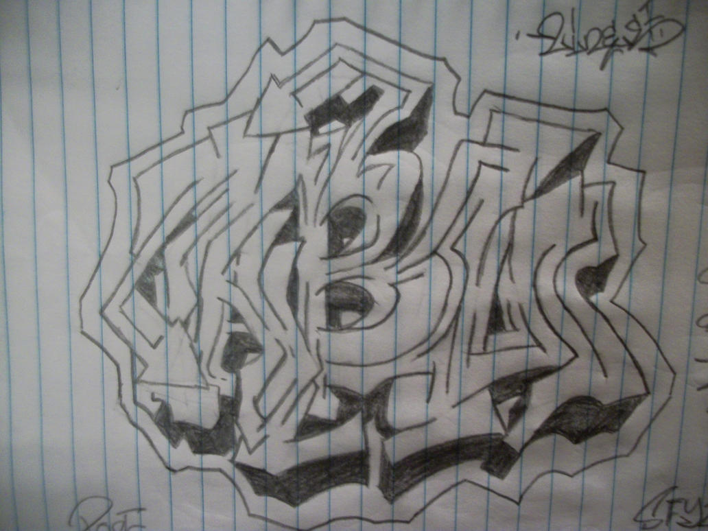 Abo Graffiti Sketch by REMIXXES on DeviantArt