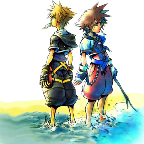 Sora 1 and 2 by insane-cheshire-cat6