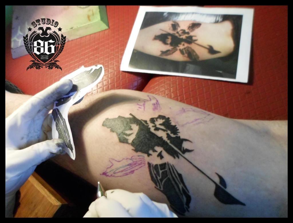 linkin park tattoo by riversstudio86 on deviantart. Black Bedroom Furniture Sets. Home Design Ideas