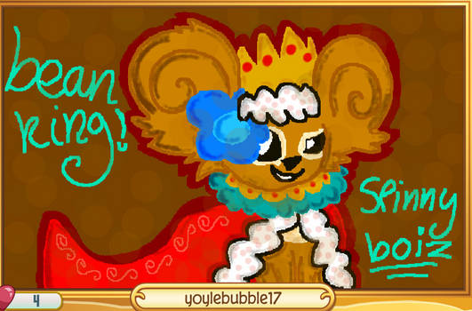 Spinny Bean King