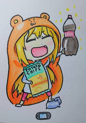 Watercolor Umaru-chan!