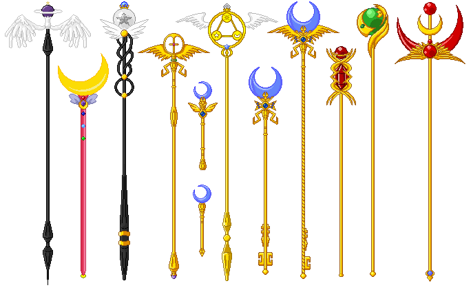 Magician Wand Png Magical Staff