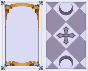 Card Tarot template by Verdy-K