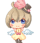 Little Lolita Angel pixel art by Puffyko