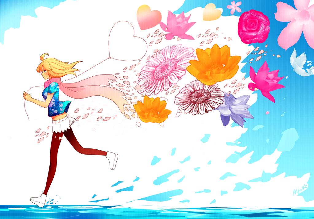 Summer dream by Puffyko