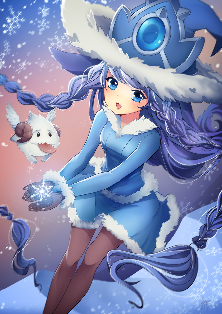 Winter Wonder Lulu by Puffyko on DeviantArt
