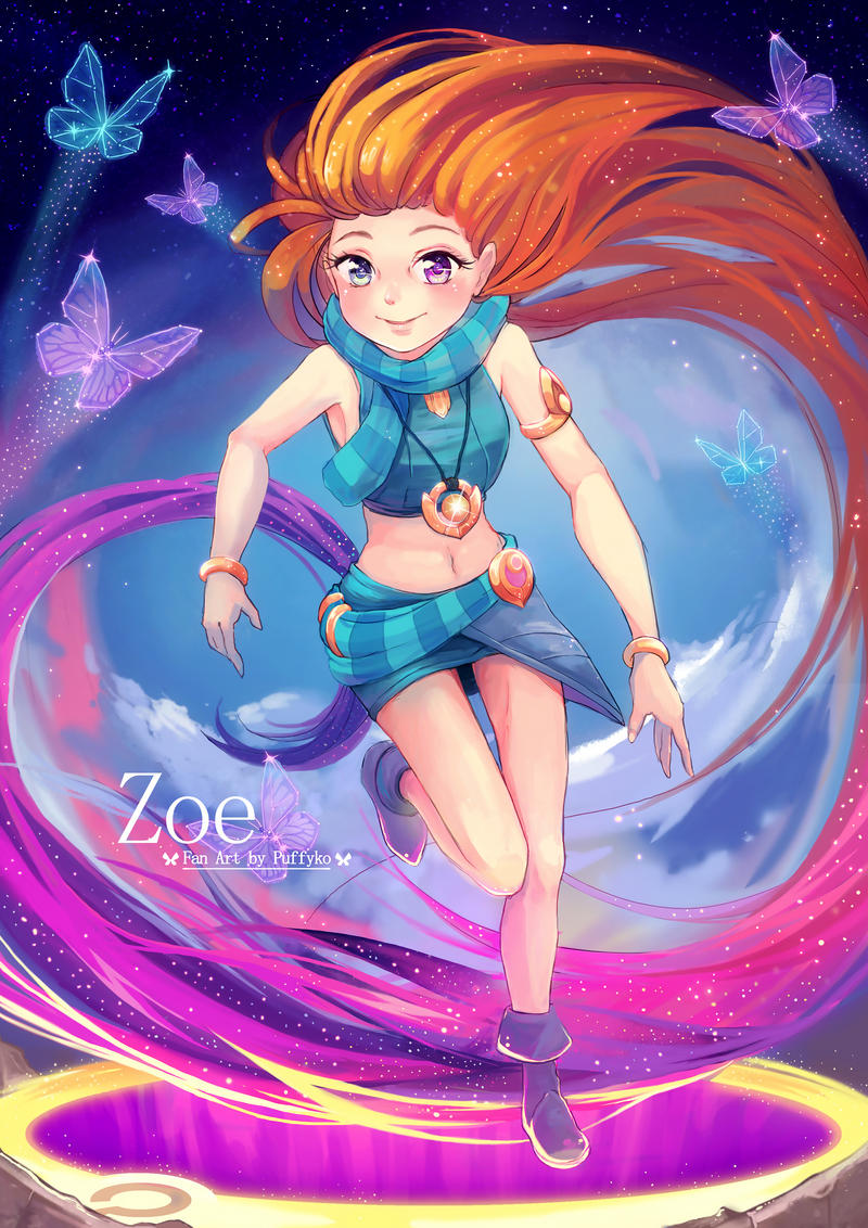 Zoe, the Aspect of Twilight by Puffyko on DeviantArt