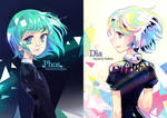 Houseki no Kuni - Phos and Dia