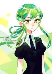Jade - Houseki no Kuni by Puffyko