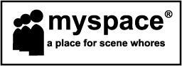 myspace spoof by chipface-zero