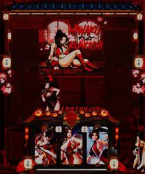 Mai Shiranui - Fatal Fury - The King of Fighters by Odorare-Design
