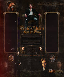 Francis Valois - Reign - Layout by Odorare-Design