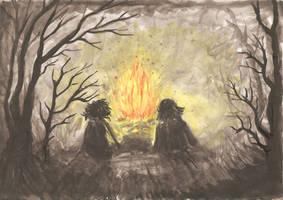 Campfire by Marraslaakso