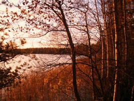 Autumn sunset III by Marraslaakso