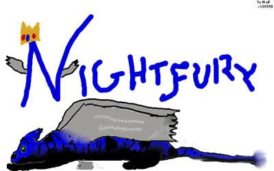 Nightfury by Thunderpurr