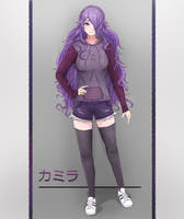 Camilla - Casual clothes by jordendraws