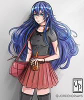 Lucina / Serena by jordendraws