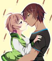 Pocky Kiss by R0cket-Cat