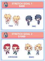 My hero Academia Stretch Goals