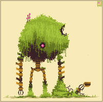 Retired Moss Titan by Sky-Burial